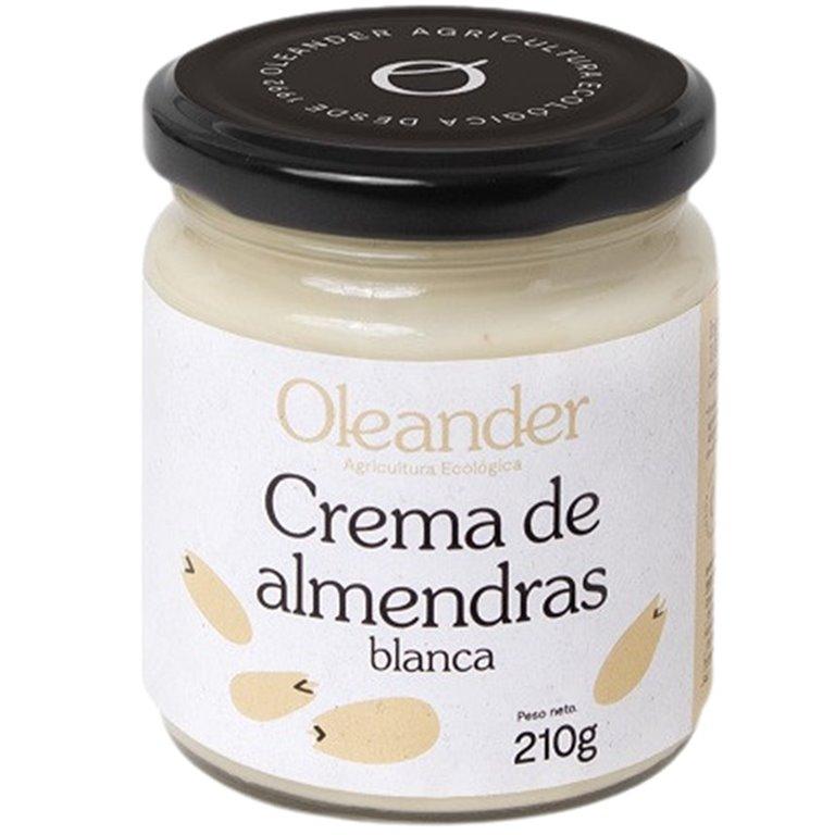 Crema de Almendras Blanca 100% Pura Bio 210g