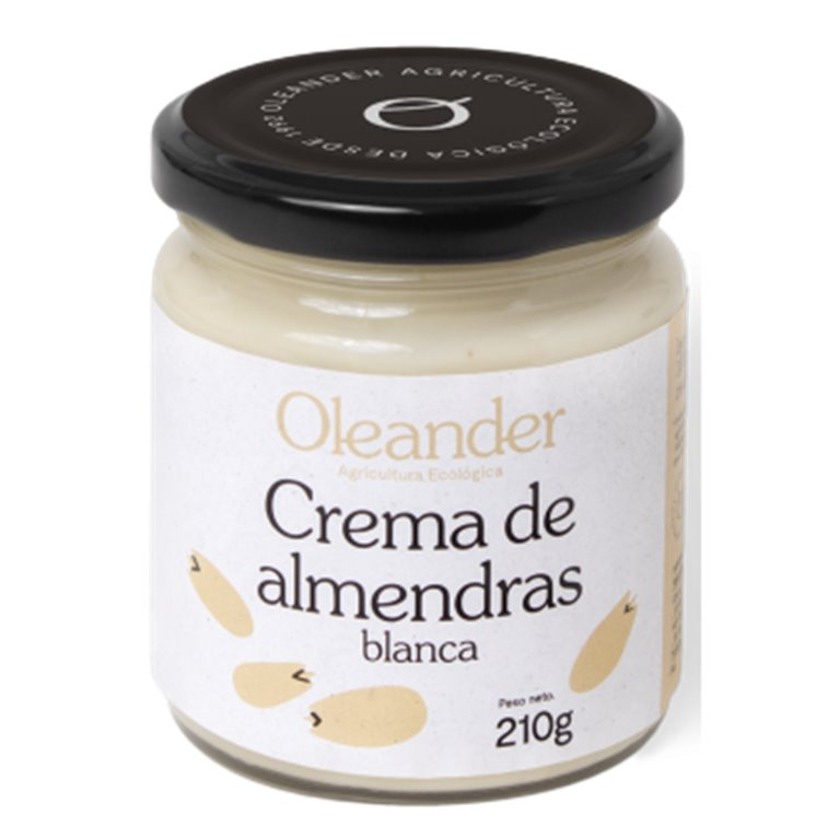Crema de Almendras Blanca Bio 210g