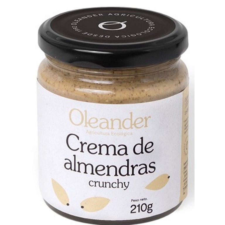 Crema de Almendras Crunchy 100% Pura 210g