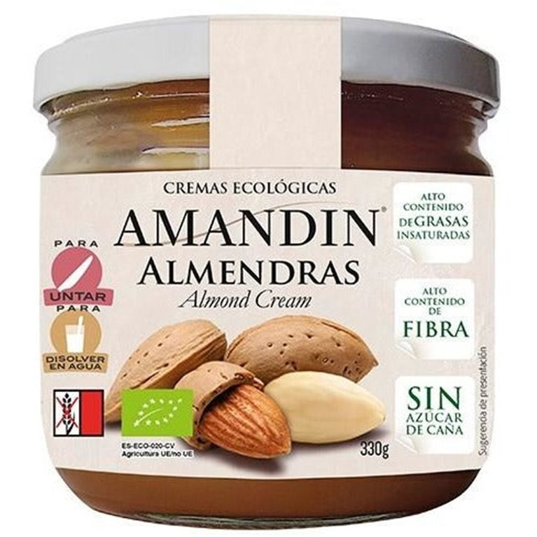 Crema de Almendras (Sin Azúcar) Bio 330g