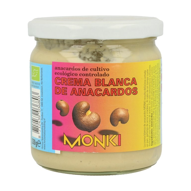 Crema de Anacardos Blanca 100% Pura Bio 330g