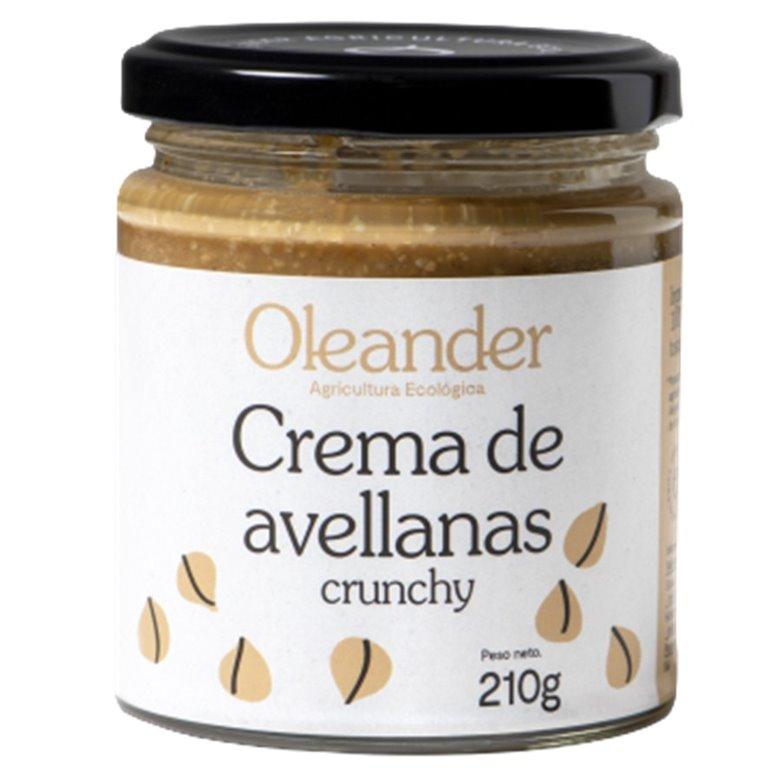 Crema de Avellanas Crunchy 100% Pura Bio 210g