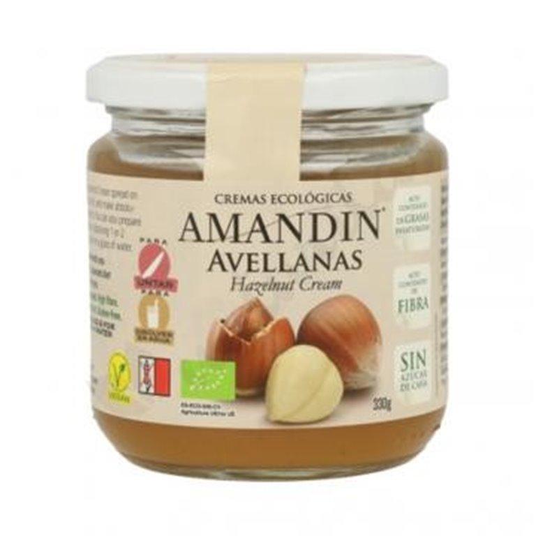 Crema de Avellanas (Sin Azúcar) Bio 330g
