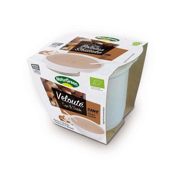 Crema de boletus & shiitake