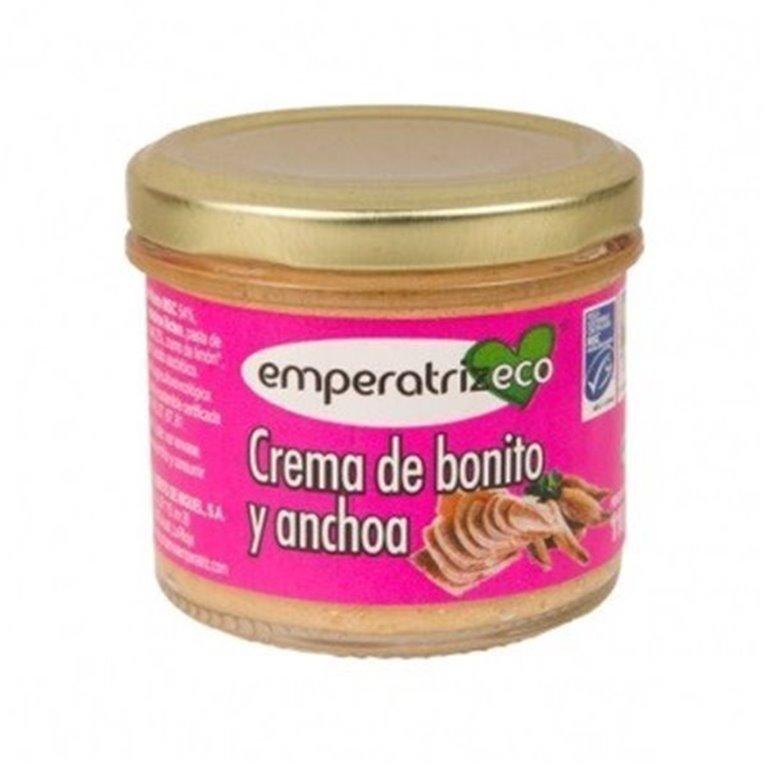 Crema de bonito y anchoa msc, 110 gr