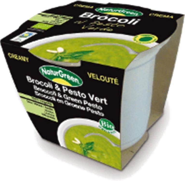 Crema de brócoli al pesto, 310 gr
