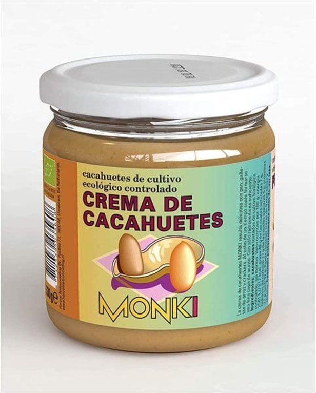 Crema de cacahuete Monki 330g