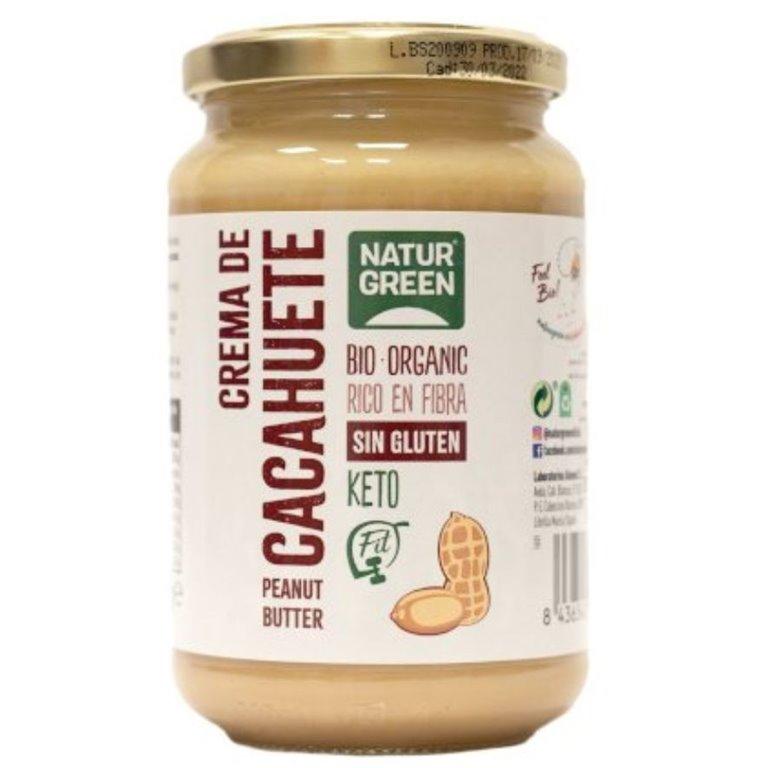 Crema de Cacahuete Keto 100% Pura Bio 330g