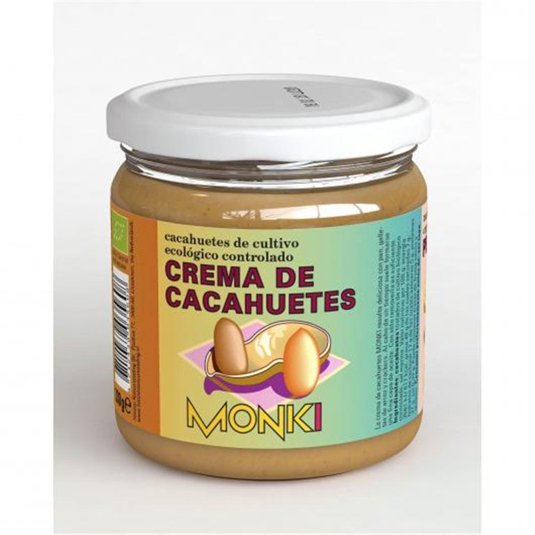 Crema de cacahuetes, 330 gr