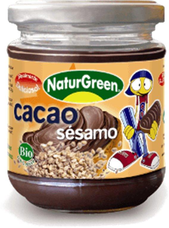 Crema de cacao con sésamo, 200 gr