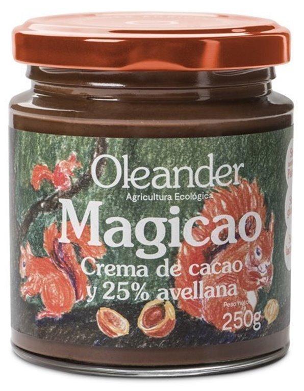 Crema de cacao y avellanas, 250 gr