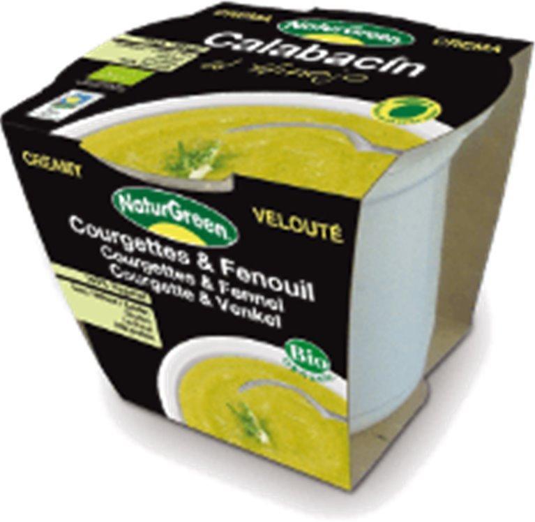 Crema de calabacín al hinojo, 310 gr