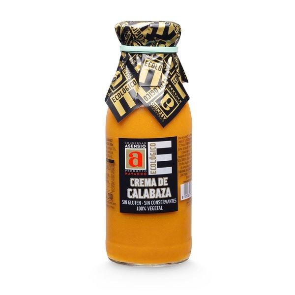 Crema de calabaza Ecológica Botella 500 ml
