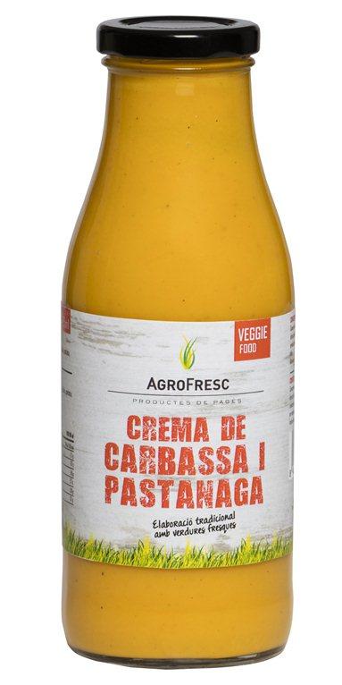 Crema de calabaza y zanahoria, 485 gr