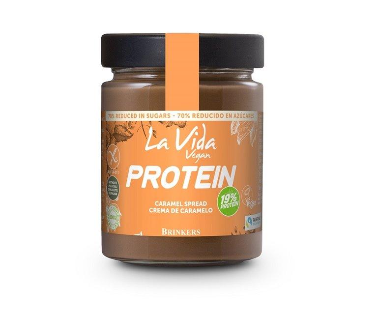 Crema de Caramelo y Chocolate con Proteína de Arroz Bio 270g