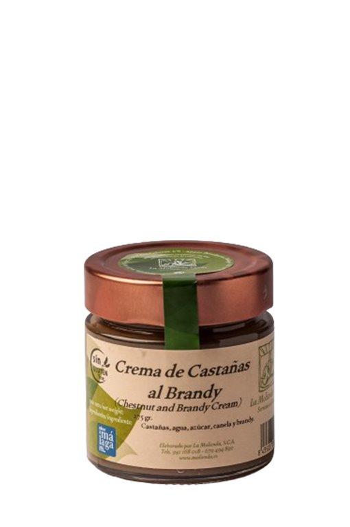 Crema de castañas al brandy. 275 gr.