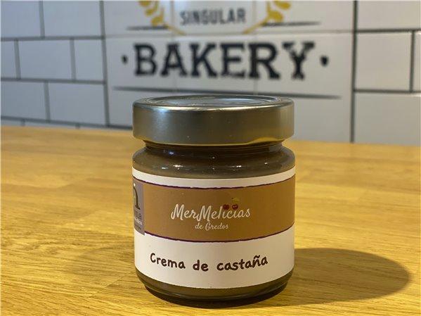 Crema de castañas - Mermelicias de Gredos