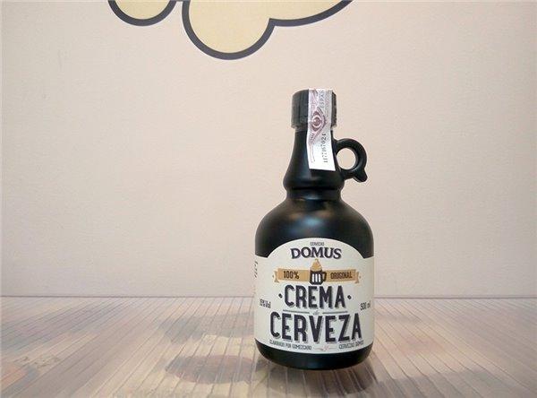 Crema de cerveza Domus