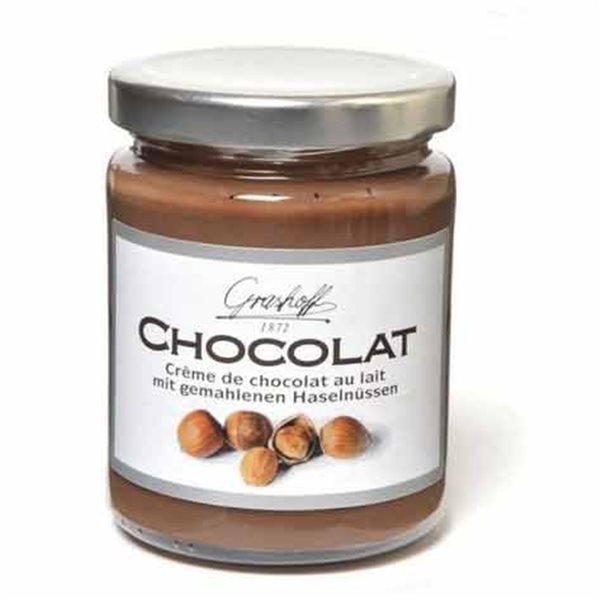 Crema de chocolate con leche y avellanas Grashoff