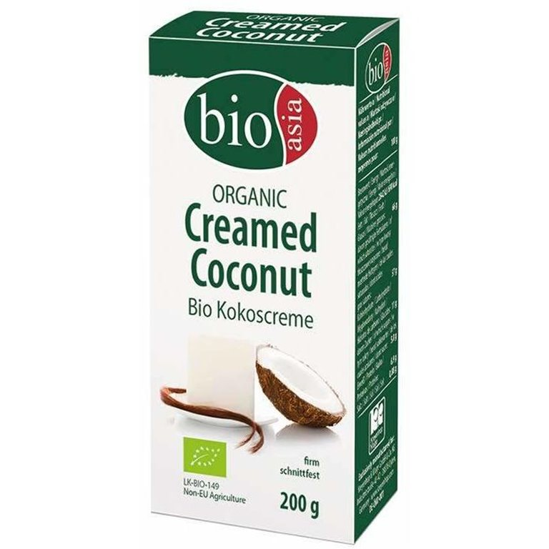 Crema de Coco (Bloque) Bio 200g