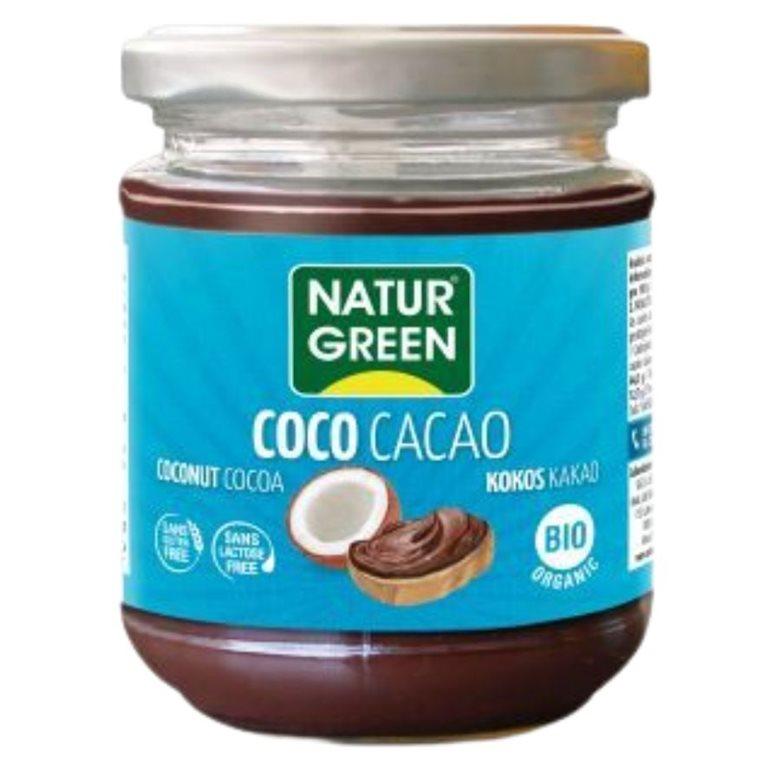 Crema de Coco con Avellanas y Cacao Bio 200g