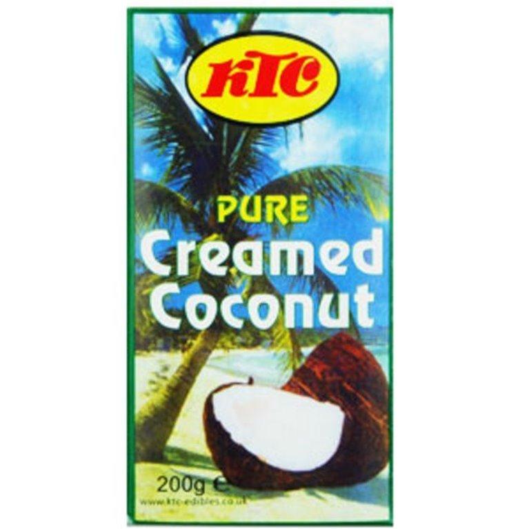 Crema de Coco en Bloque Puro 200g