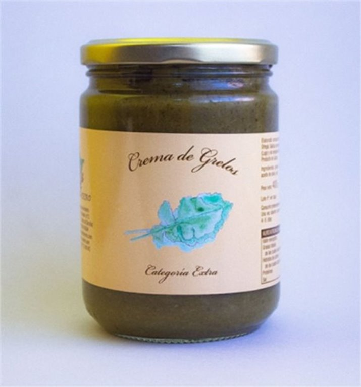 Crema de grelos tarro P.N. 400 Grs.