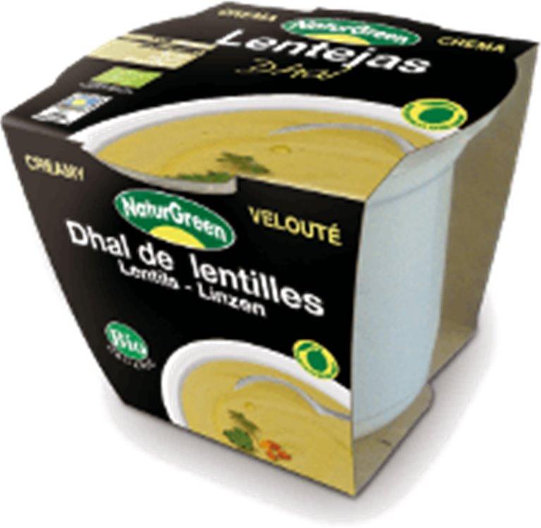 Crema de lentejas Dahl, 310 gr