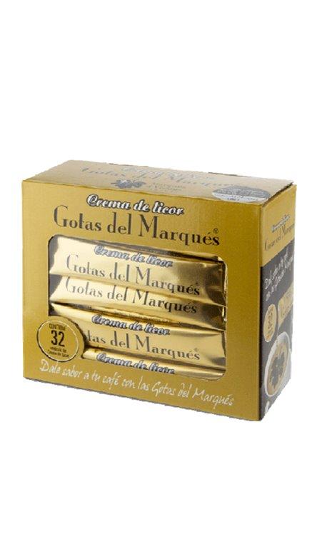 Crema de Licor Gotas del Marqués 32 Blisters