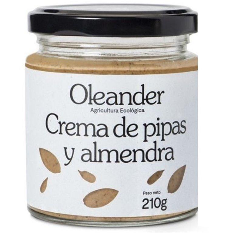 Crema de Pipas y Almendras Bio 210g