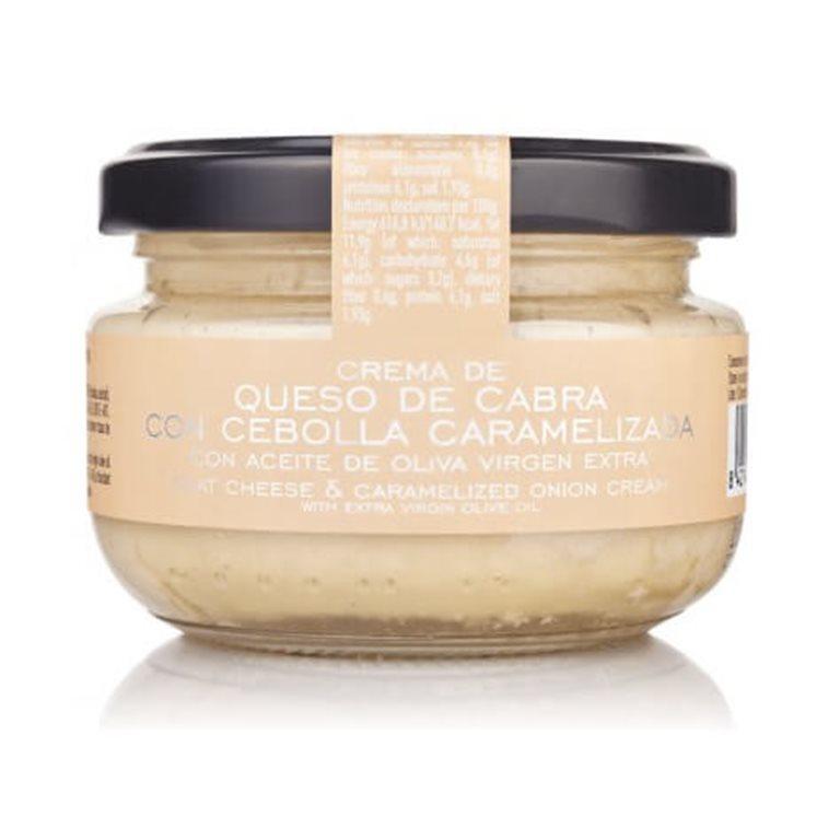 Crema de queso de cabra con cebolla La Chinata