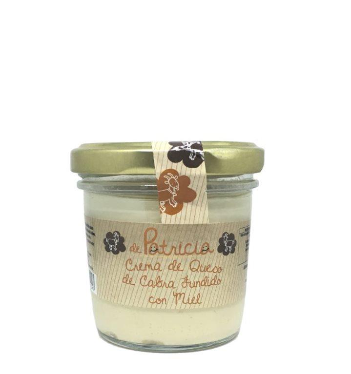 Crema de queso de cabra fundido con miel, 1 ud