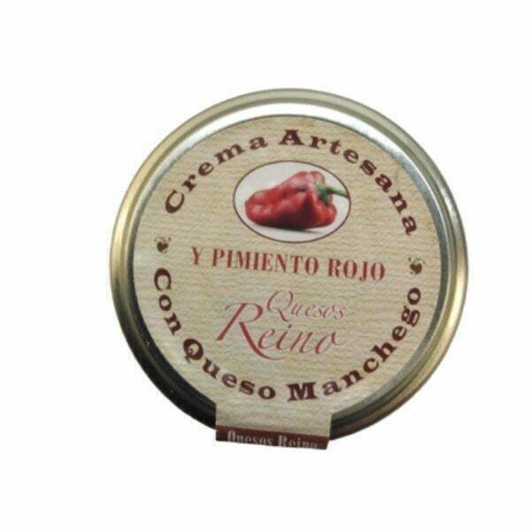 Crema de queso manchego con pimiento caramelizado 140 gr