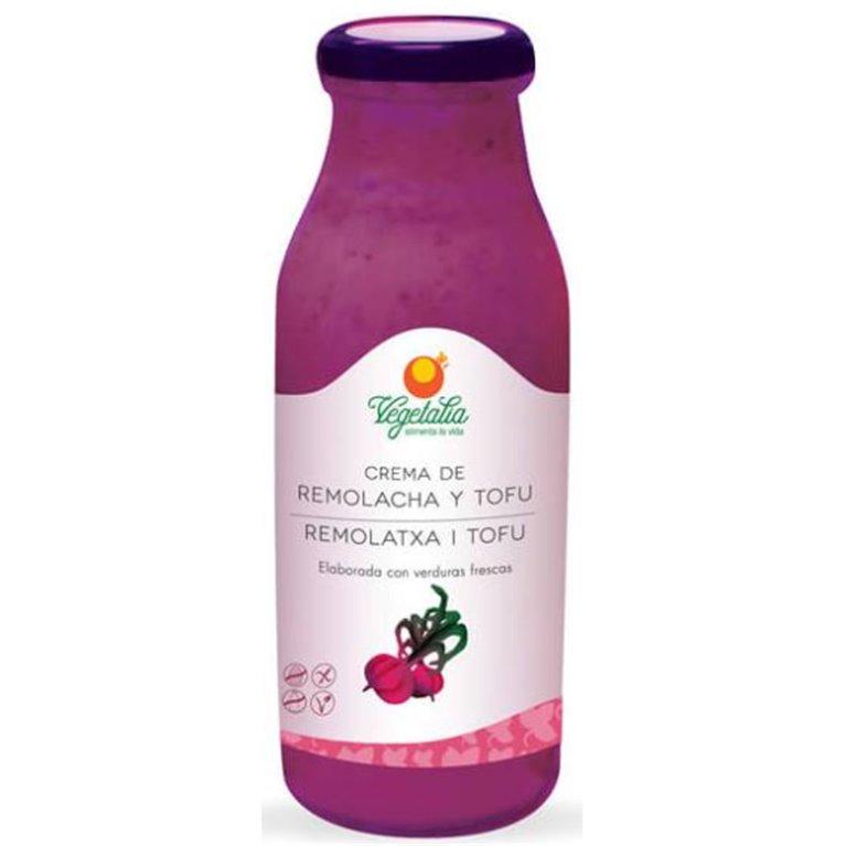 Crema de Remolacha y Tofu Bio 500ml, 1 ud