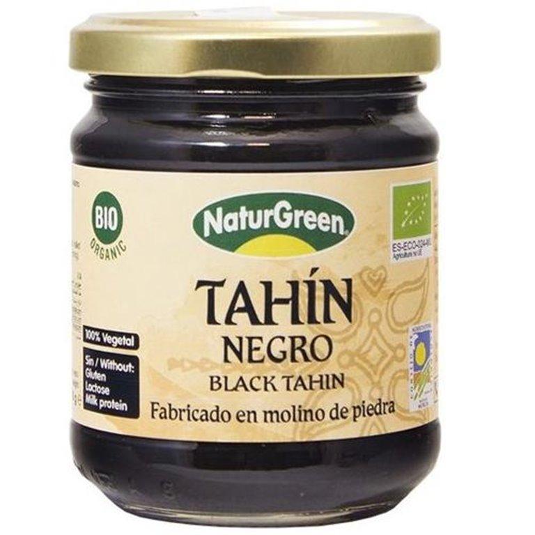 Crema de Sésamo Negro Crudo Tahin Pure Bio 180g