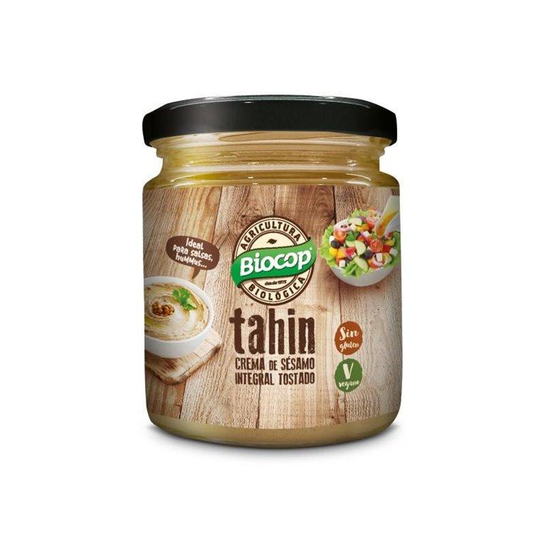 Crema de Sésamo Tahin Tostado Integral sin Sal Bio 250g