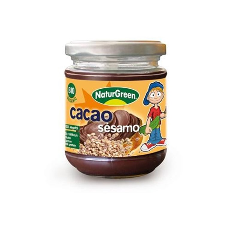 Crema de Sésamo y Cacao Bio 200g