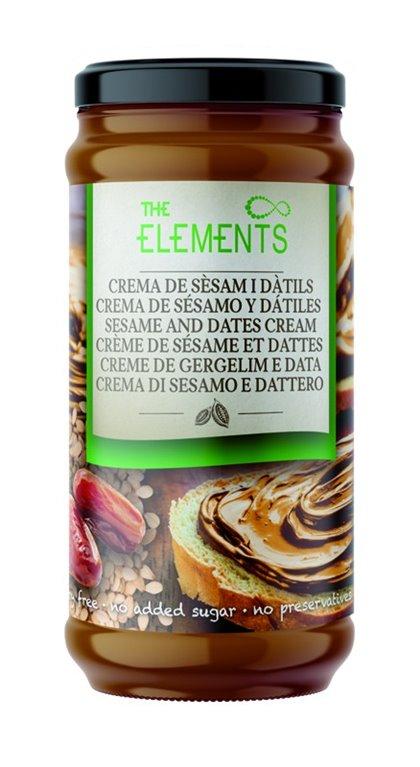 Crema de Sésamo y Dátiles (Sin Azúcar) 230g