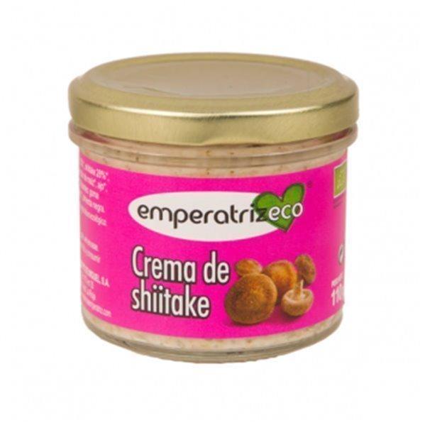 Crema de setas shiitakes