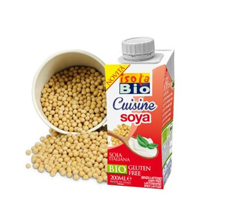 Crema de Soja para Cocinar Bio 200ml