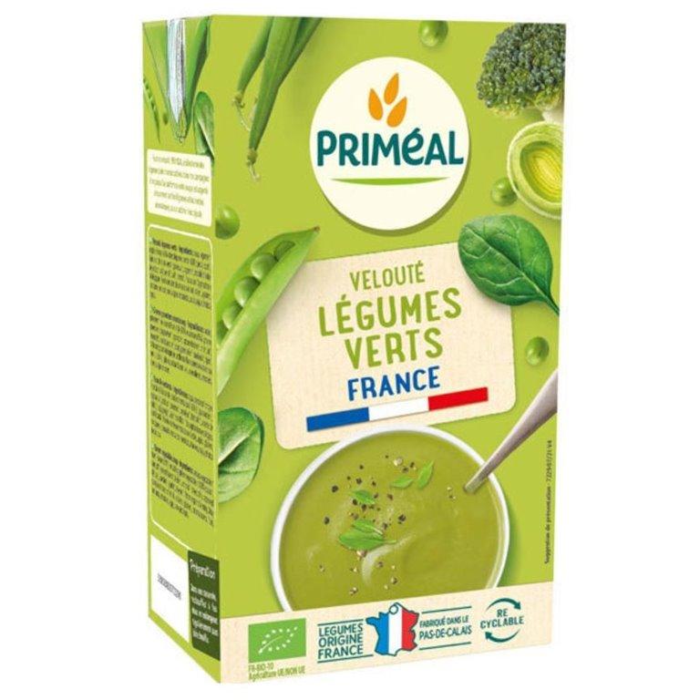 Crema de Verduras Verdes Bio 1L