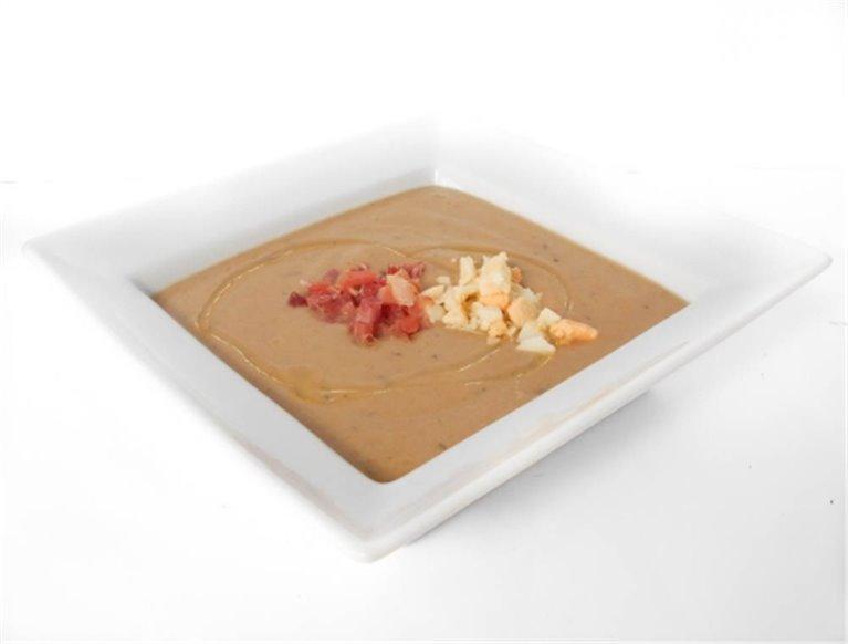 Crema de zanahoria y berenjena