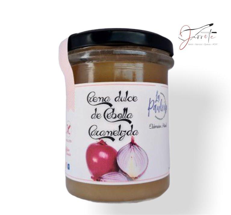 Crema Dulce de Cebolla Caramelizada - Tarro, 210 gr