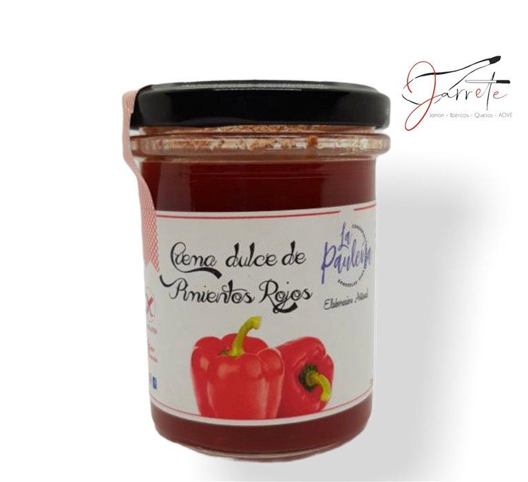 Crema Dulce de Pimientos Rojos - Tarro, 210 gr