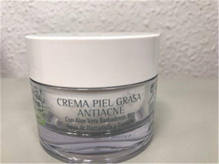 Crema piel grasa antiacné