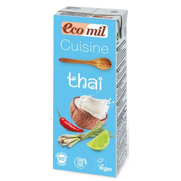 Crema Thai para Cocinar Bio 200g
