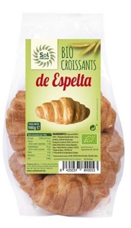 Croissants de Espelta Bio 160g