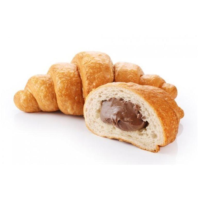 Croissants rellenos de chocolate Arruabarrena. Envueltos individualmente - caja de 15 unidades (65 g/ud) (Rellenos de chocolate)
