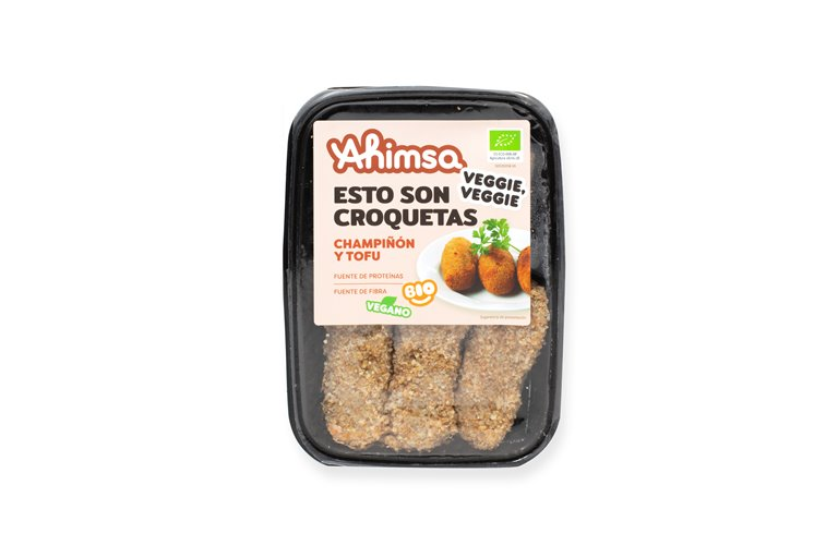 Croquetas Champiñon - Tofu Bio Ahimsa, 220 gr