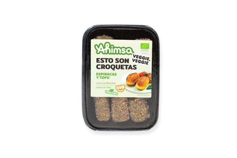 Croquetas Espinacas - Tofu Bio Ahimsa, 220 gr